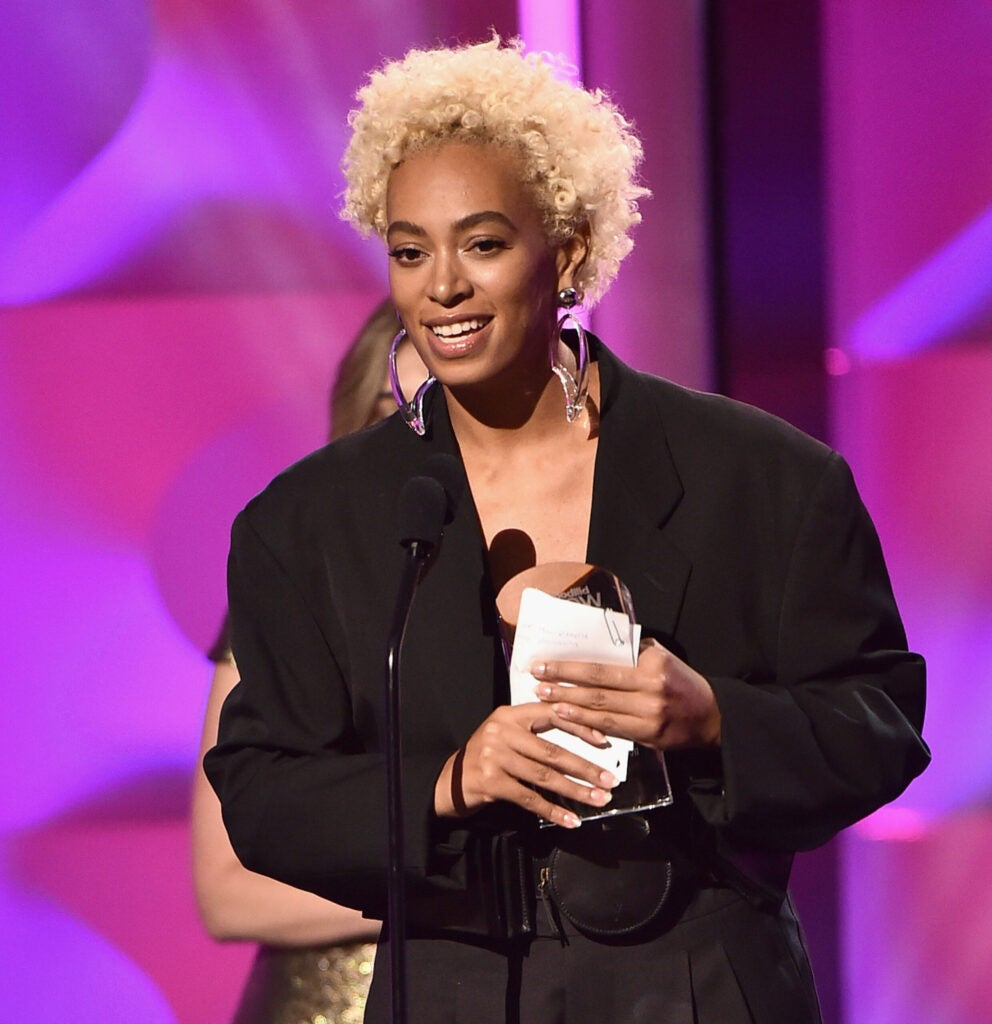 Solange's Bleached Baby 'Fro