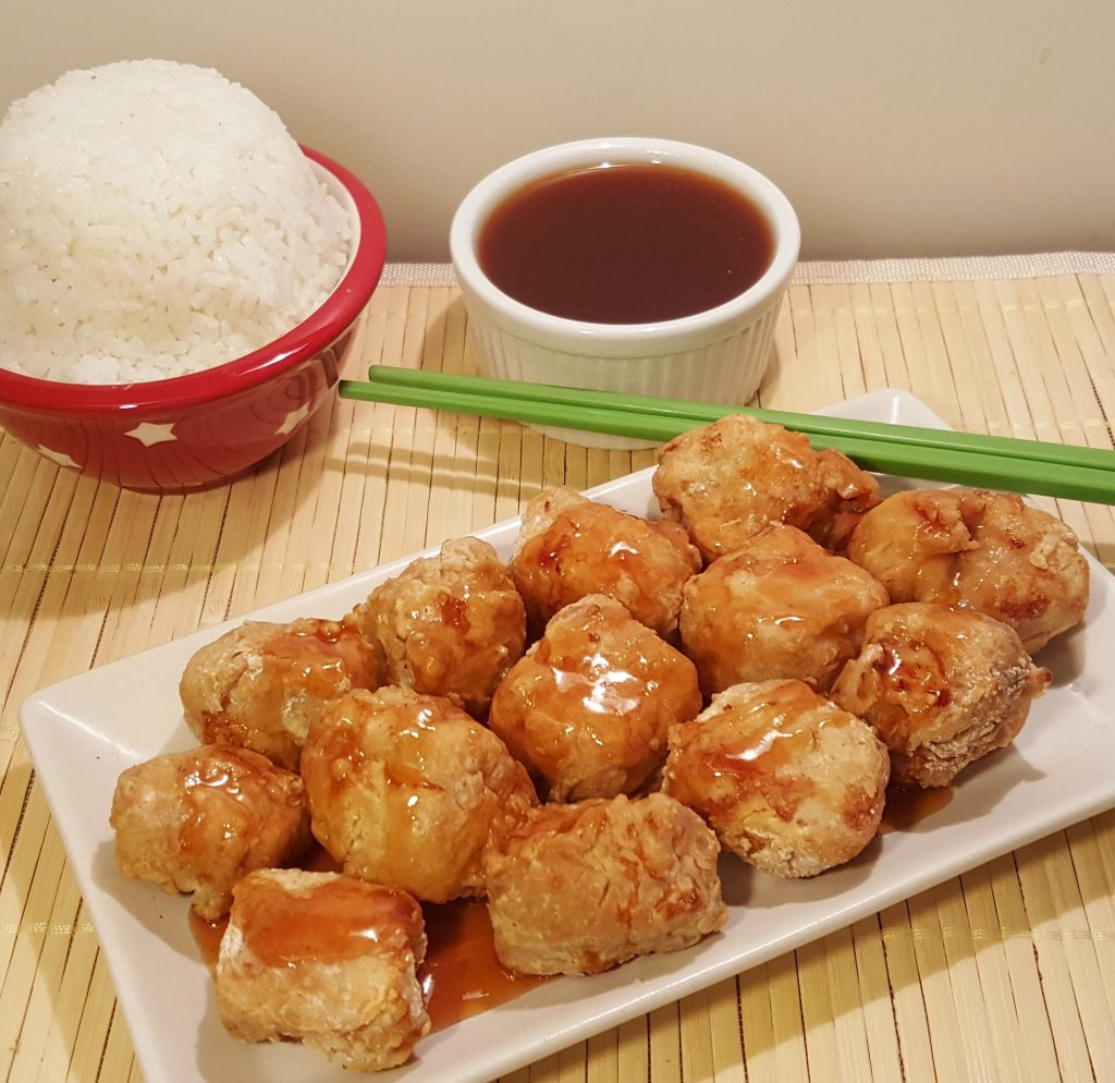 Air Fryer Chinese Take Out Sweet and Sour Pork