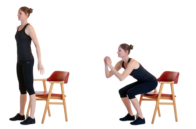 11 quick chair exercises that work as well as going to the gym