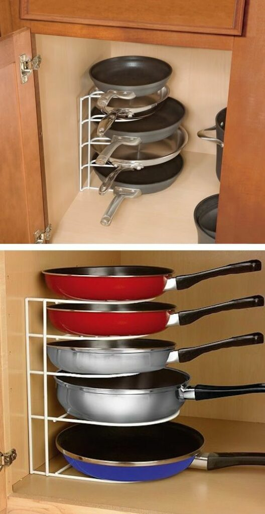 Paper trays to stack pans