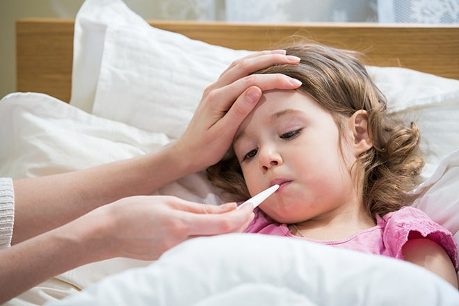 8 secrets of moms whose kids rarely get sick in winter