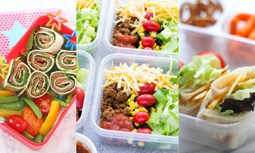 20 school lunches you can make in five minutes or less