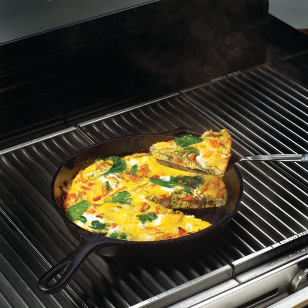 Frittata on the Grill