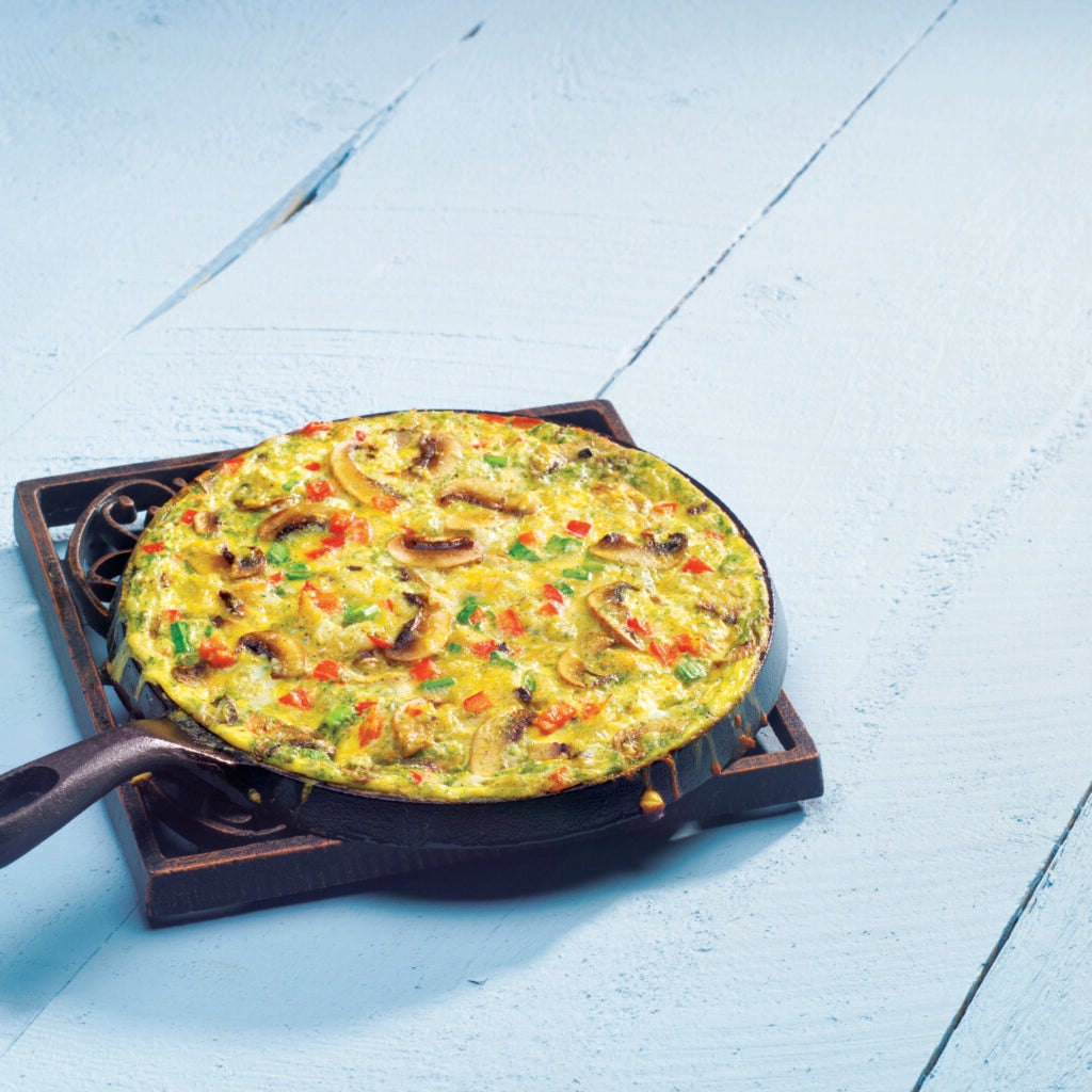 Grill-Top Vegetable Frittata