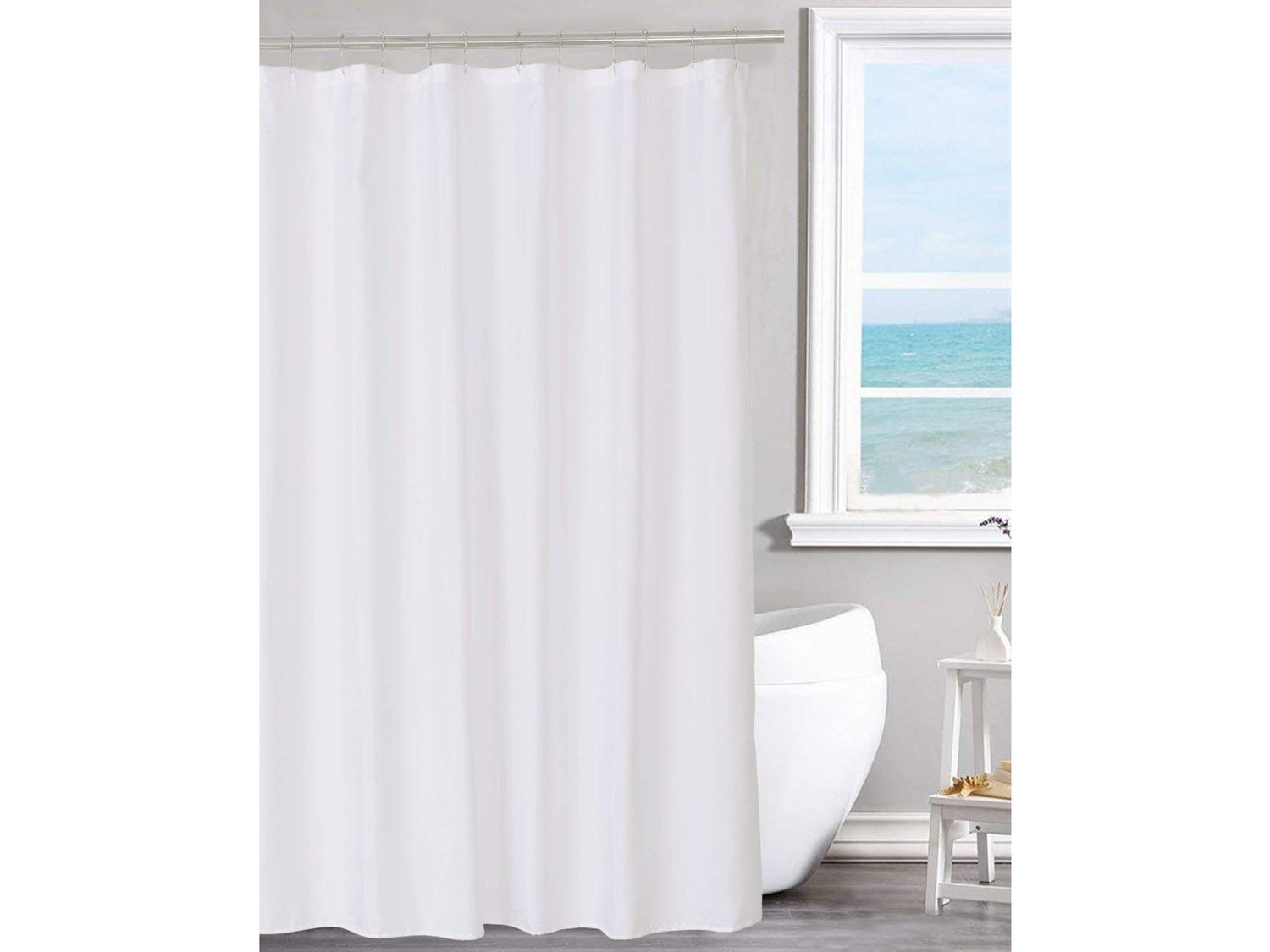 N&Y HOME Fabric Shower Curtain Liner