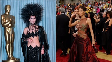 Cher and Halle Berry
