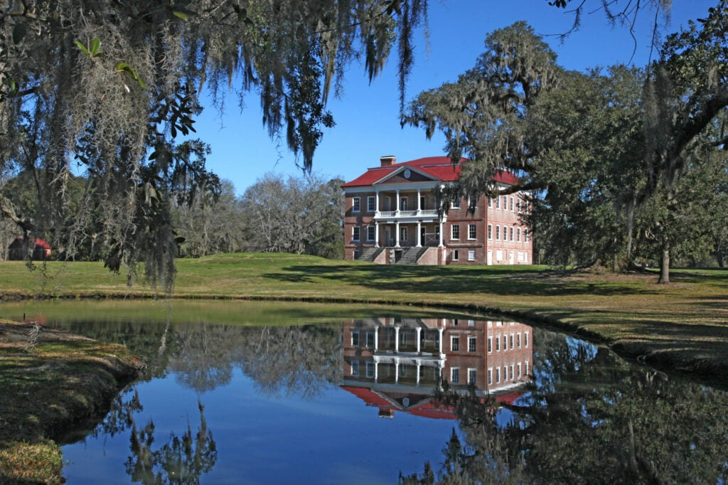 Drayton Hall Plantation - Gone With The Wind