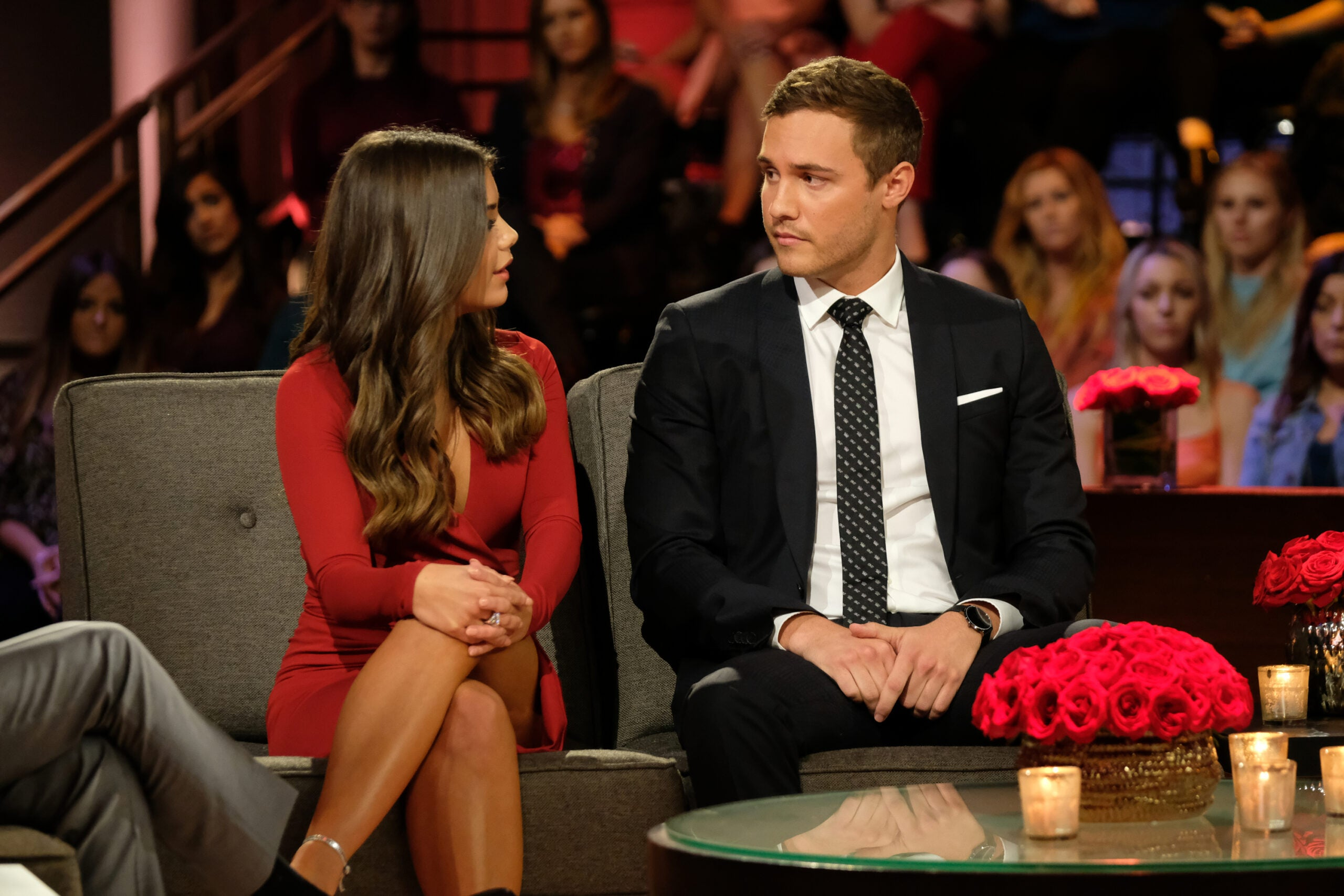 Peter and Hannah Ann from the Bachelor