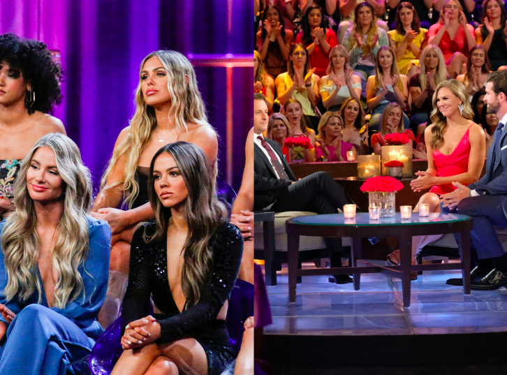 The bachelor live show tapping