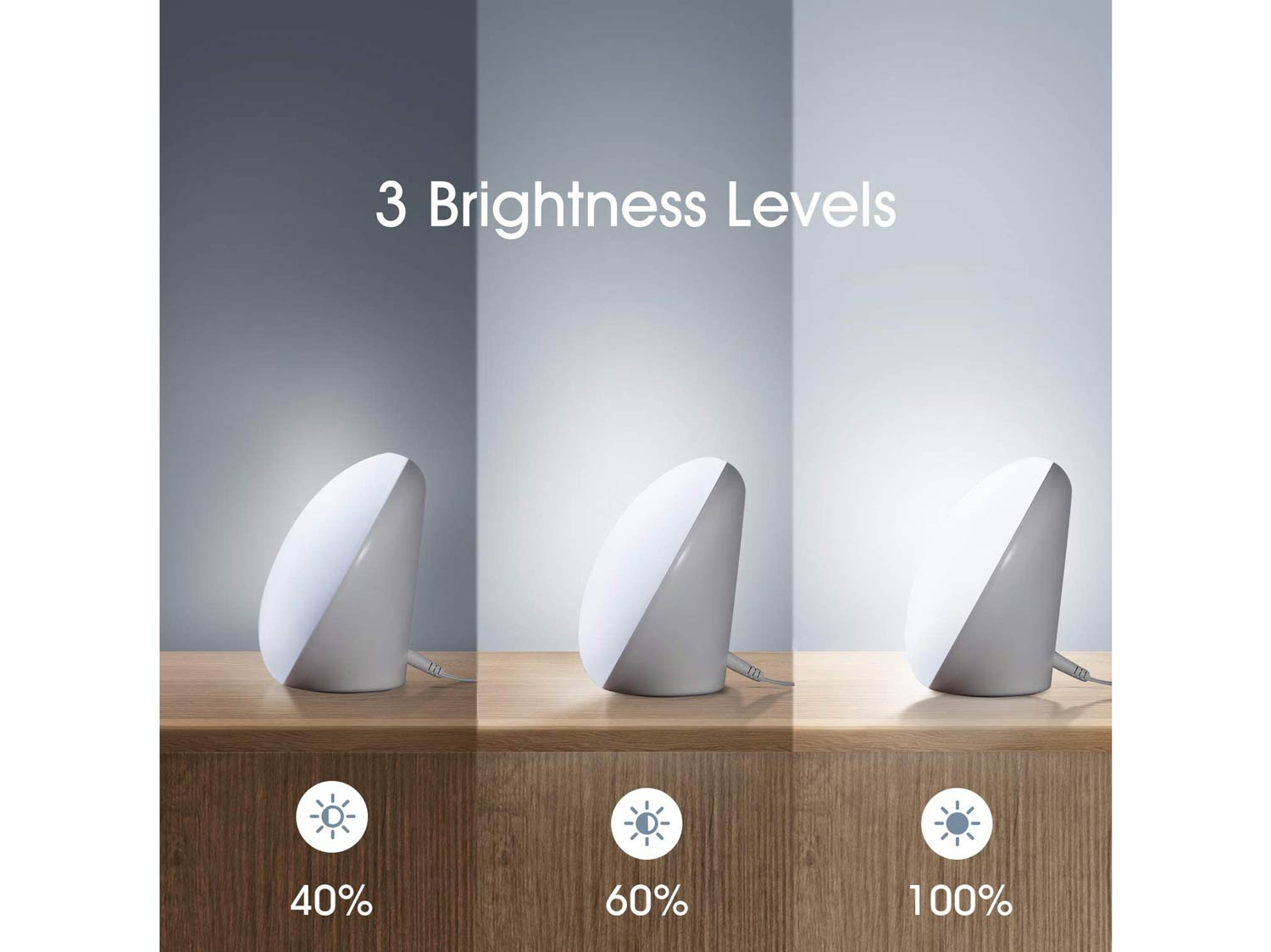 Miroco Light Therapy Lamp Compact Size