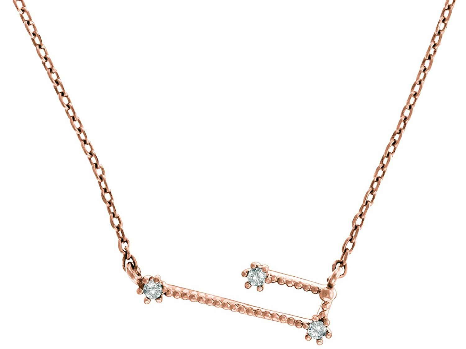 PAVOI 14K Gold Plated Astrology Constellation Necklace