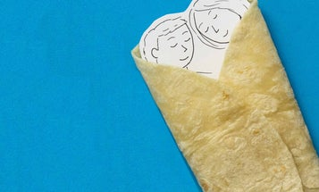 Burrito Blankets and Other Cozy Food-Themed Throws