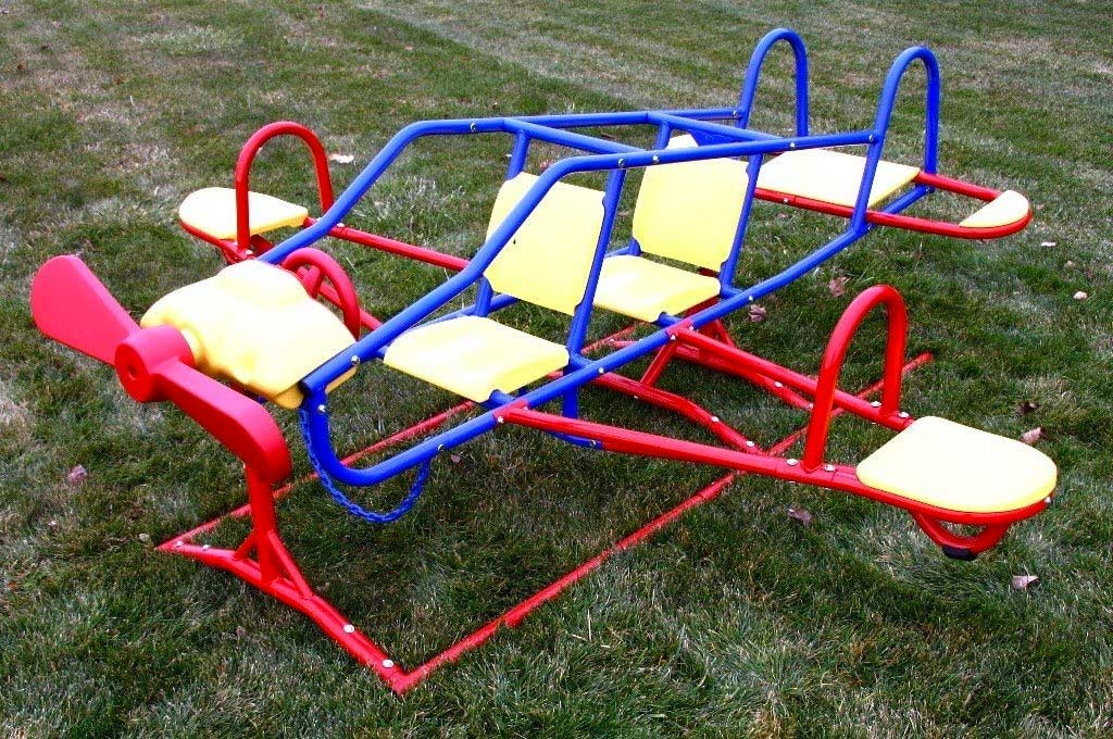 Lifetime Ace Flyer Airplane Teeter Totter, Primary Colors