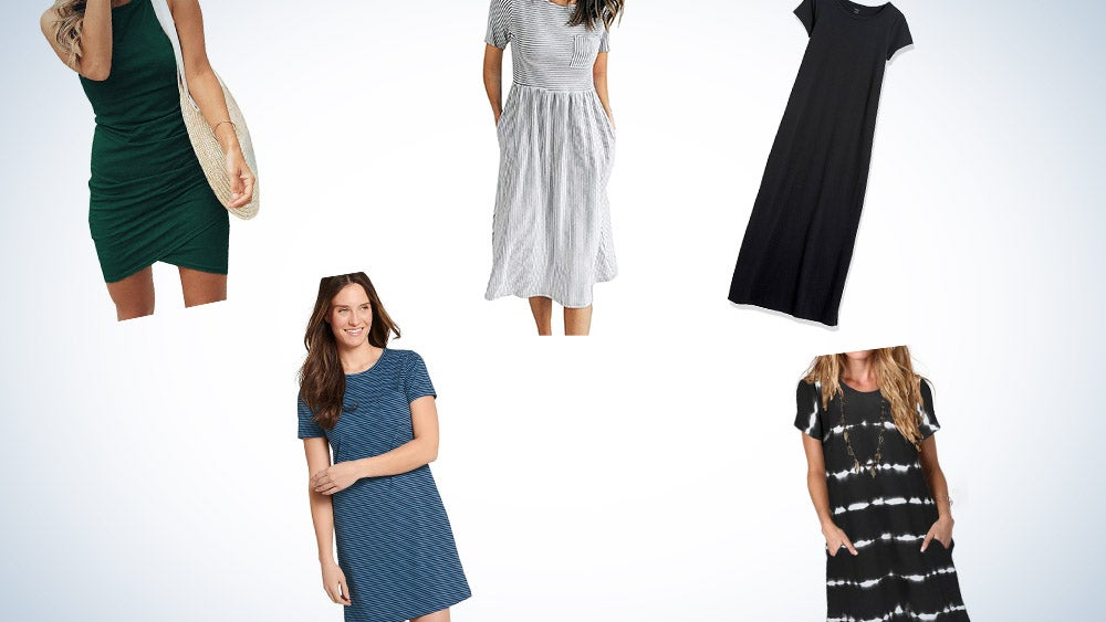 These are our picks for the best T-shirt dresses on Amazon.