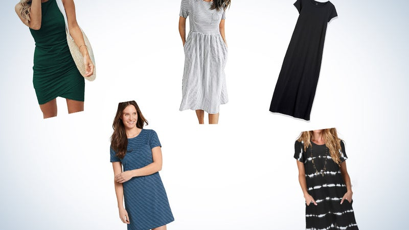 Stay Stylish and Comfortable with the Best  T-Shirt Dresses
