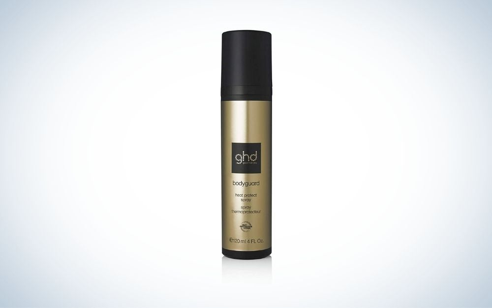 ghd Heat Protect Spray is the best volumizing heat protectant.