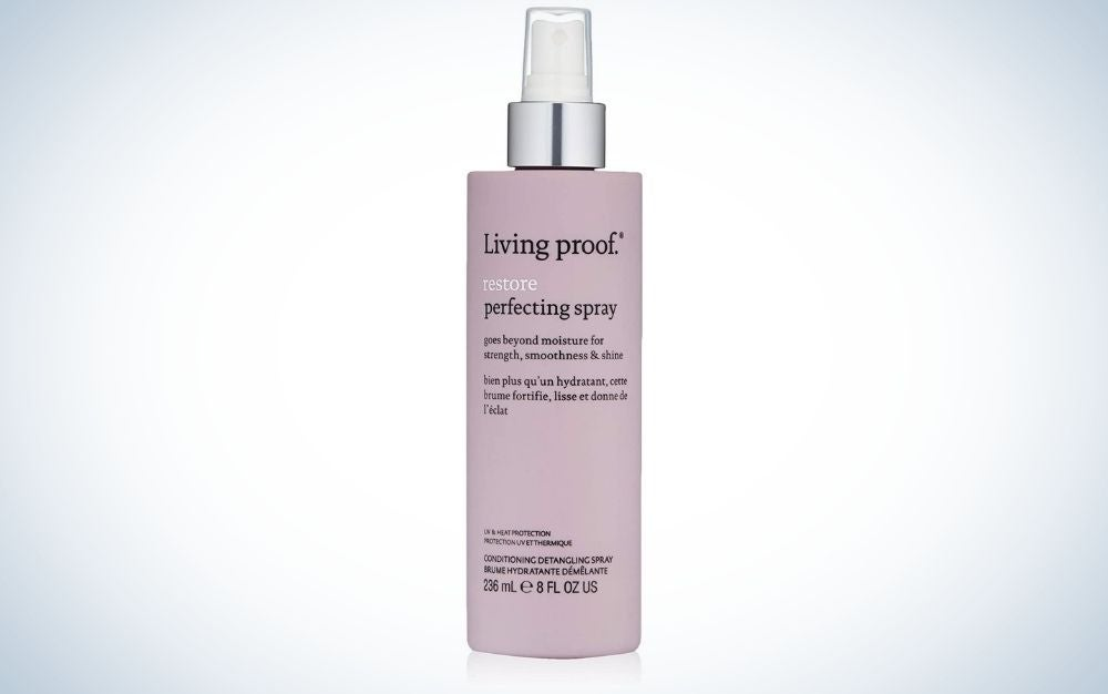 Living proof Restore Perfecting Spray is the best spray-on heat protector