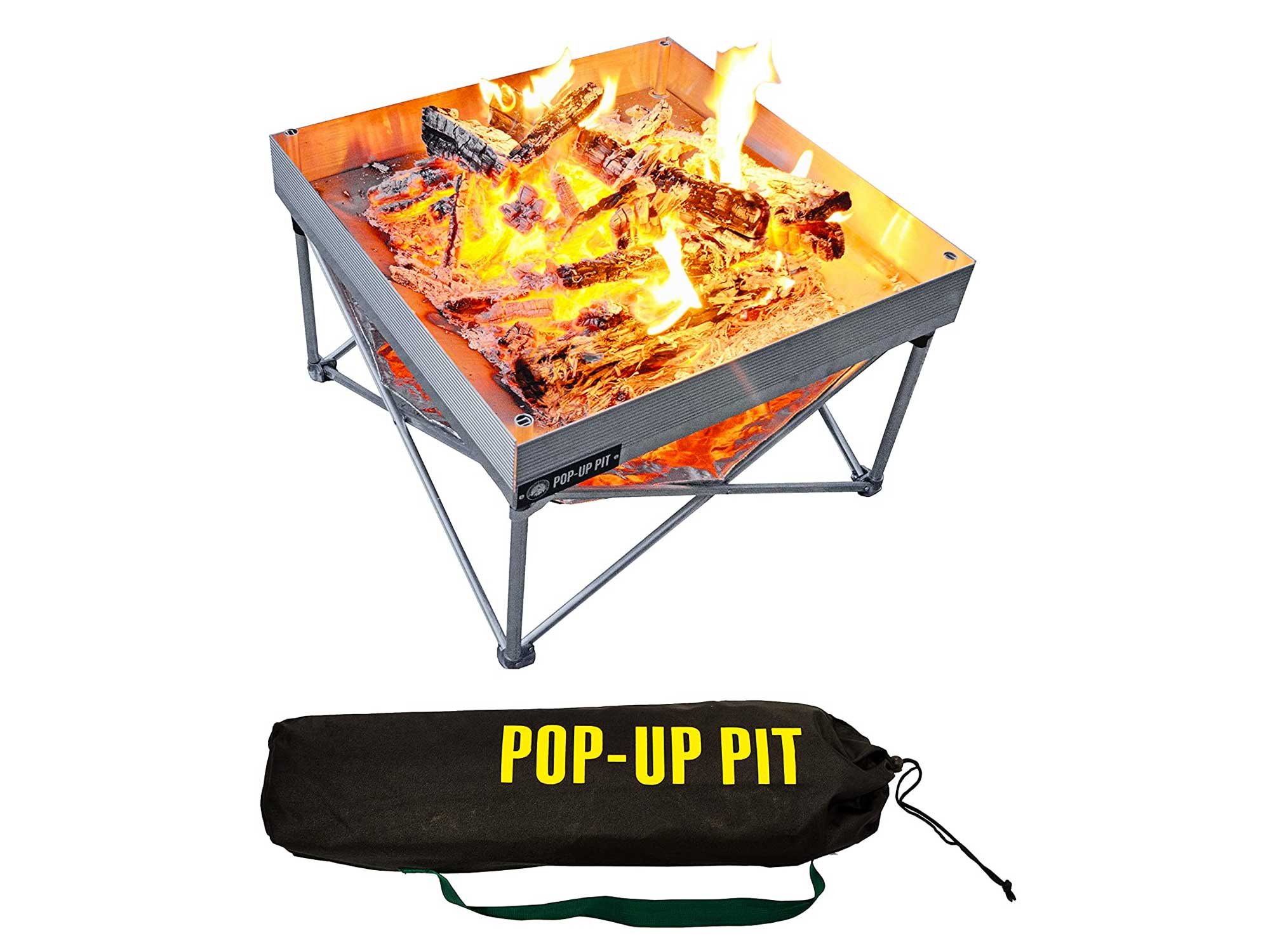 Pop-Up Fire Pit, Portable and Lightweight