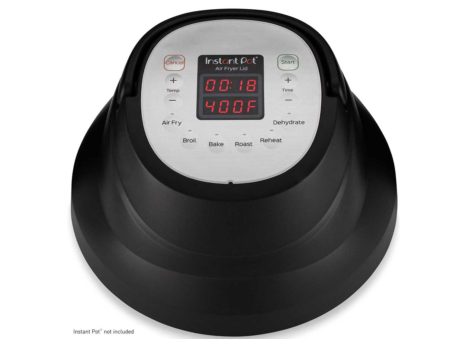 Instant Pot Air Fryer Lid 6 in 1, Turn your Instant Pot into an Air Fryer, 6 Qt, 1500W