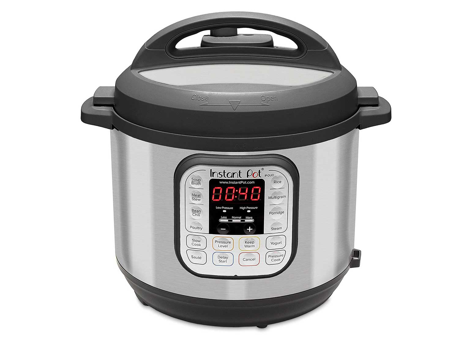 Instant Pot Duo 7-in-1 Electric Pressure Cooker, Slow Cooker, Rice Cooker, Steamer, Saute, Yogurt Maker, and Warmer