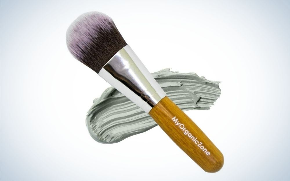 The My Organic Zone Face Mask Brush is the best cruelty-free option