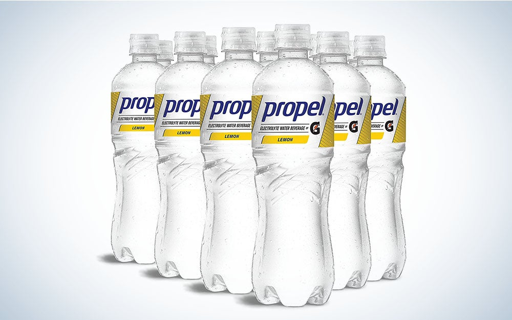 Propel Flavored Water with Electrolytes is the best value flavored water.