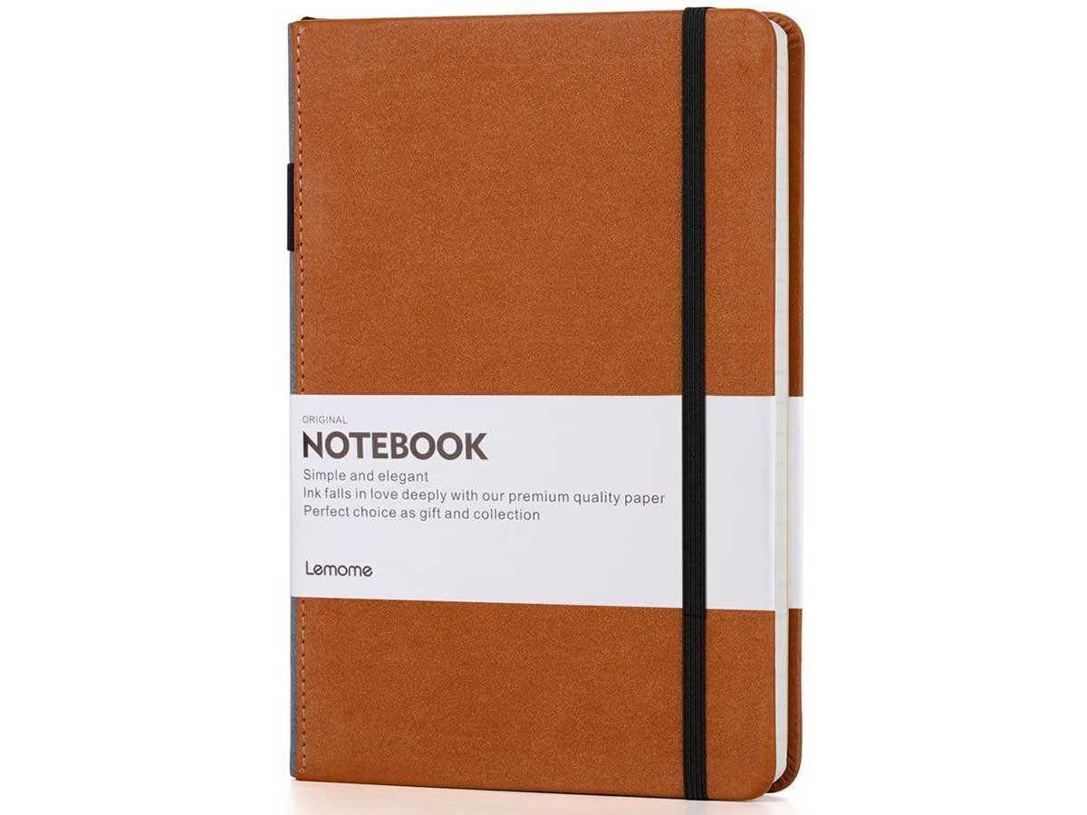 Thick Classic Notebook with Pen Loop
