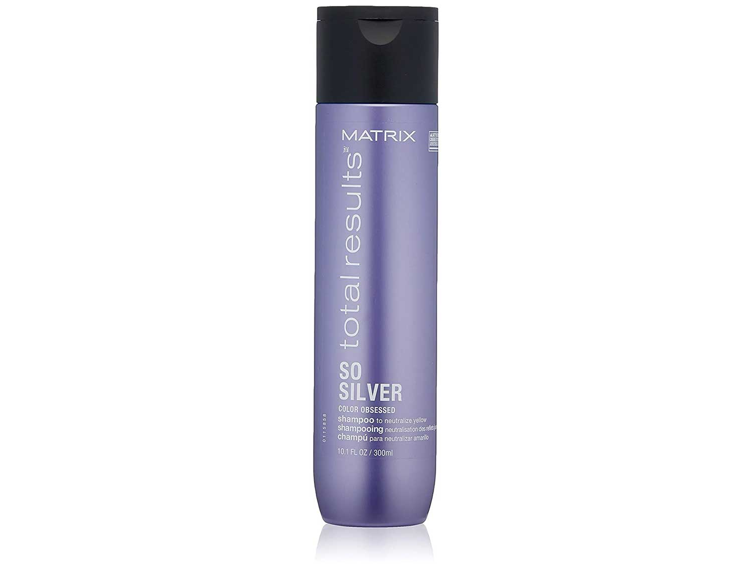 MATRIX Total Results So Silver Color Depositing Purple For Neutralizing Yellow Tones   Tones Blonde & Silver Hair   For Color Treated Hair