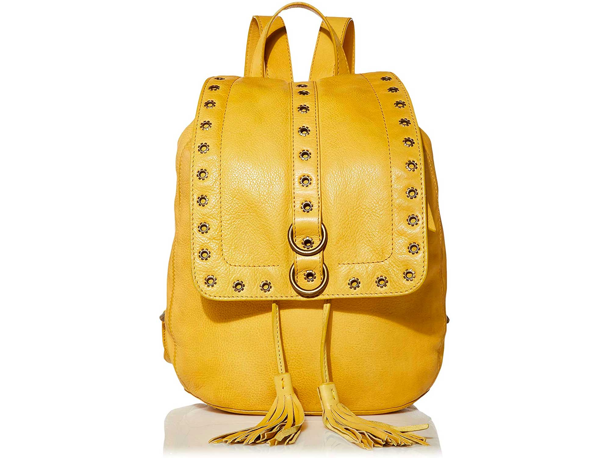 Frye and Co. Yellow Evie Backpack