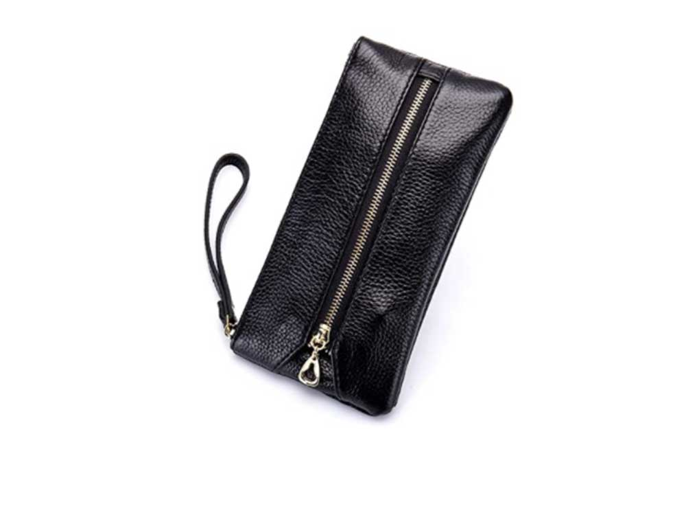 Aladin Leather Wristlet Wallet with Cell Phone Holder, Key Hooks and Card Slots Iphone 7 Plus 6S Galaxy S7 Note 5 for Women