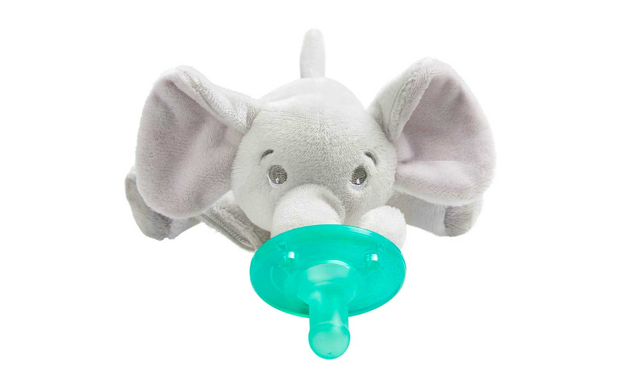 Philips Avent Soothie Snuggle Pacifier, 0-3 Months, Elephant