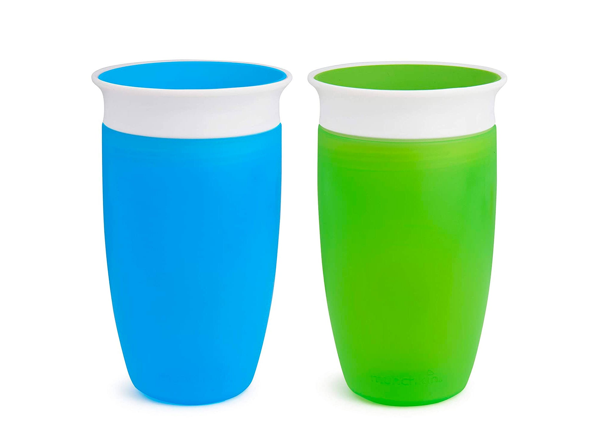 Munchkin Miracle 360 Sippy Cup, Green/Blue, 10 Oz, 2 Count