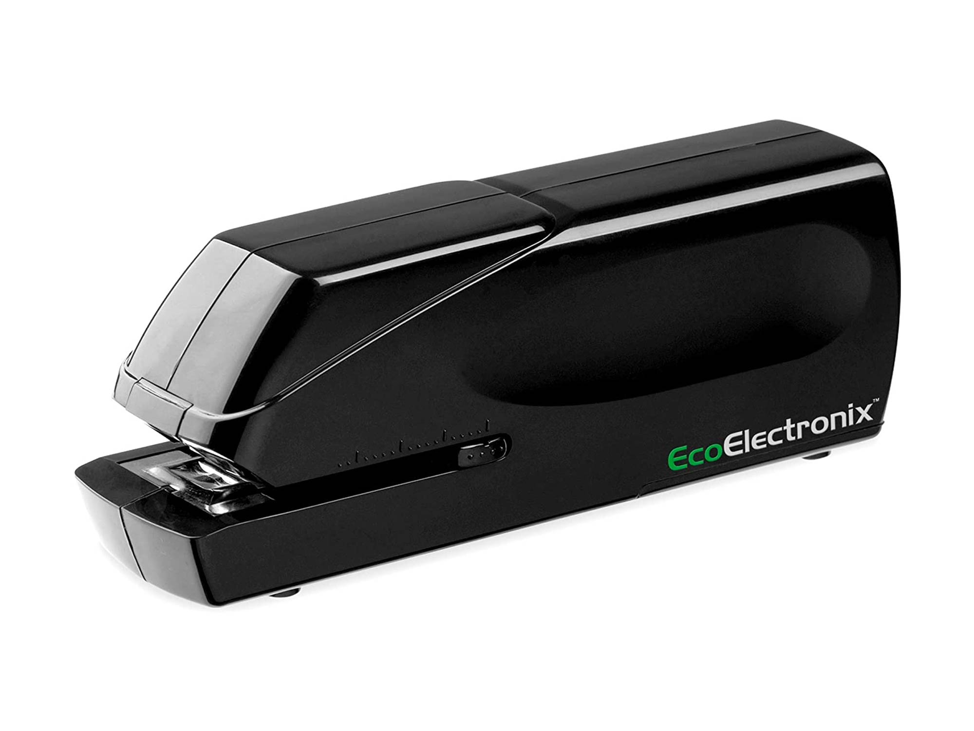 EX-25 Automatic Heavy Duty Electric Stapler - Includes Staples Power Cable & Lifetime Coverage by EcoElectronix - Jam-Free 25 Sheet Full Strip Staple Capacity for Professional and Home Office Use