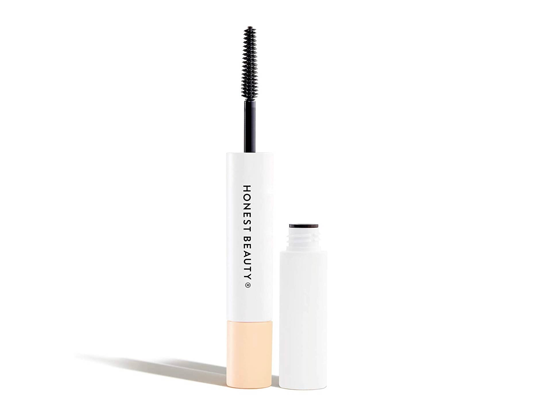 Honest Beauty Extreme Length Mascara + Lash Primer   2-in-1 Boosts Lash Length, Volume & Definition   Silicone Free, Paraben Free, Dermatologist & Ophthalmologist Tested, Cruelty Free