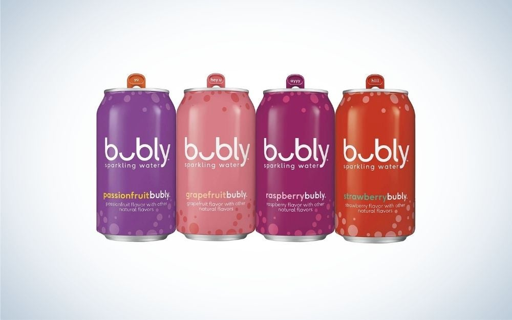 Bubly's Sparkling Water is the best value seltzer water.