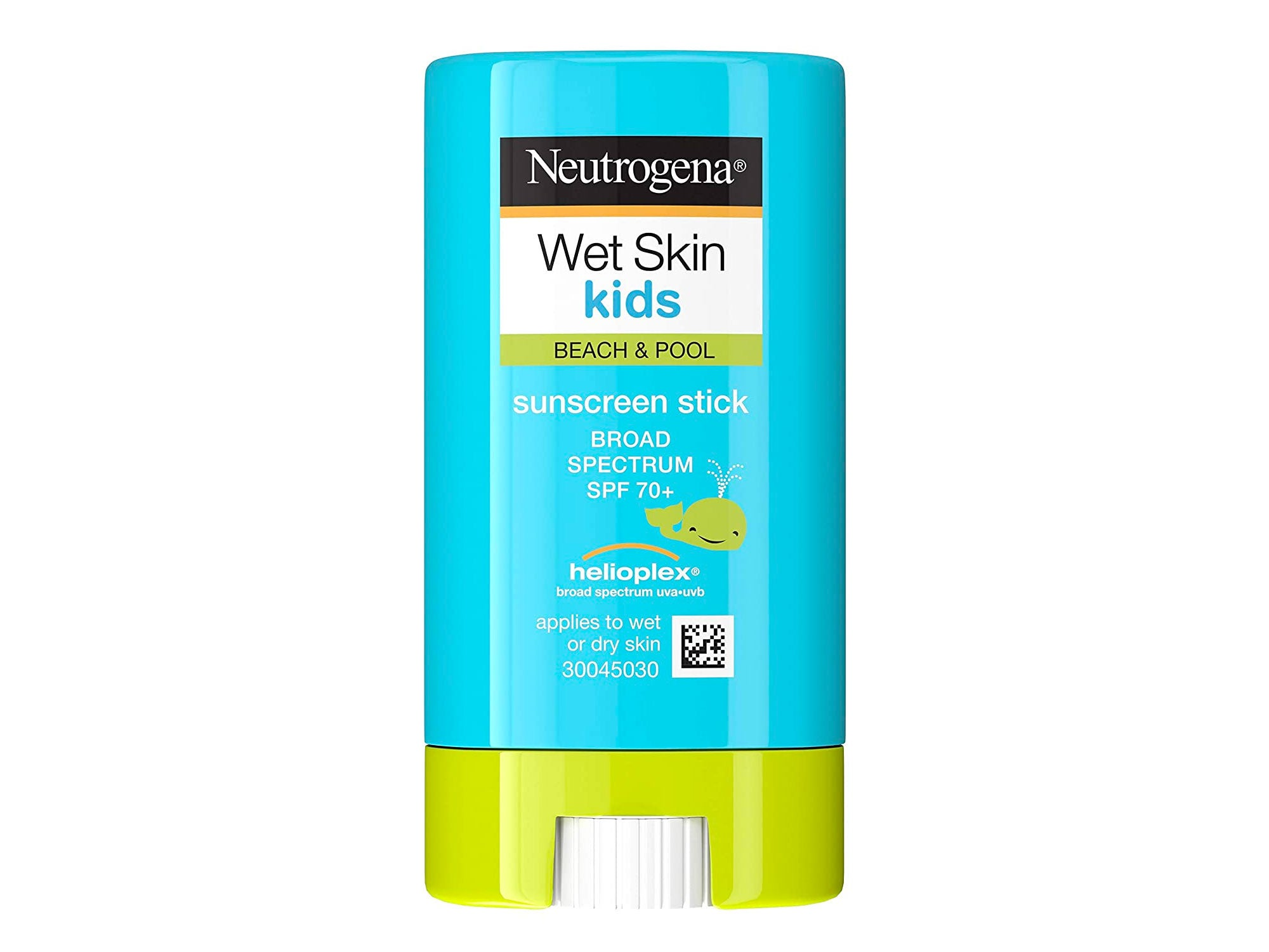 Neutrogena Wet Skin Kids Water Resistant Sunscreen Stick, Kids Sunscreen for Face and Body, Broad Spectrum SPF 70 UVA/UVB Sun Protection, Oil-Free & Hypoallergenic