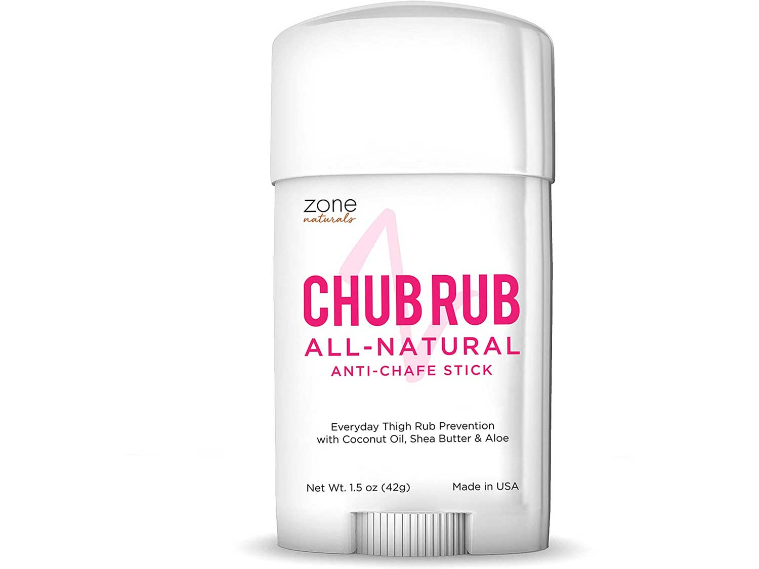 MedZone Chub Rub for Her Anti Chafe Stick - Anti Chaffing Stick for Thigh Chaffing Protection - All Natural Anti Chafing Stick by Zone Naturals