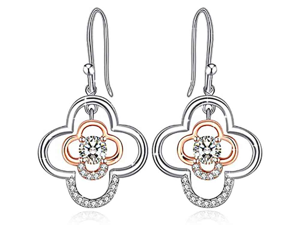 Sterling Silver High Polished Cubic Zirconia