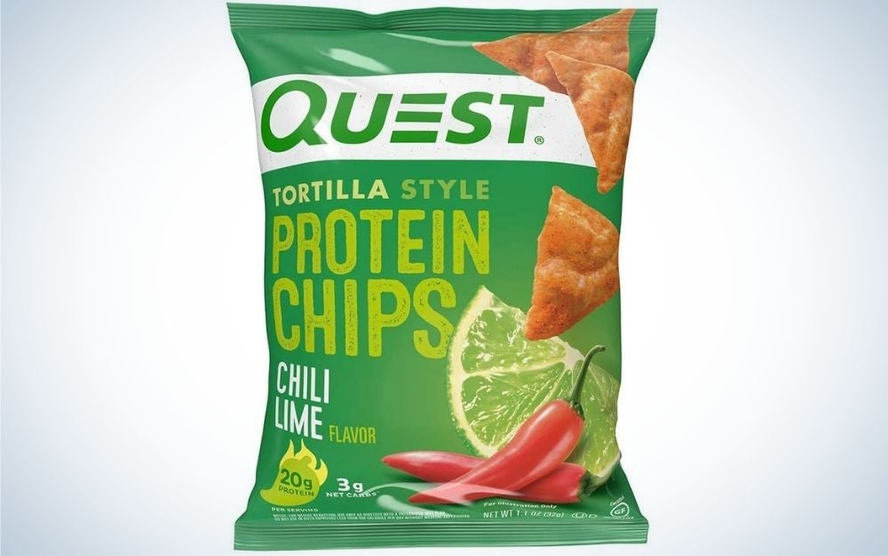 The Quest Nutrition Tortilla Style Protein Chips are the best keto snacks overall.