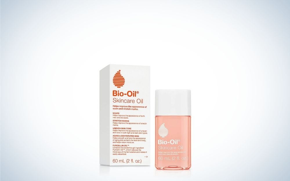 The Bio-Oil Skincare Oil is the best stretch mark treatment overall.