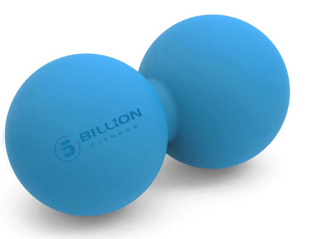 5BILLION Peanut Massage Ball - Double Lacrosse Massage Ball & Mobility Ball for Physical Therapy - Deep Tissue Massage Tool for Myofascial Release, Muscle Relaxer, Acupoint Massage