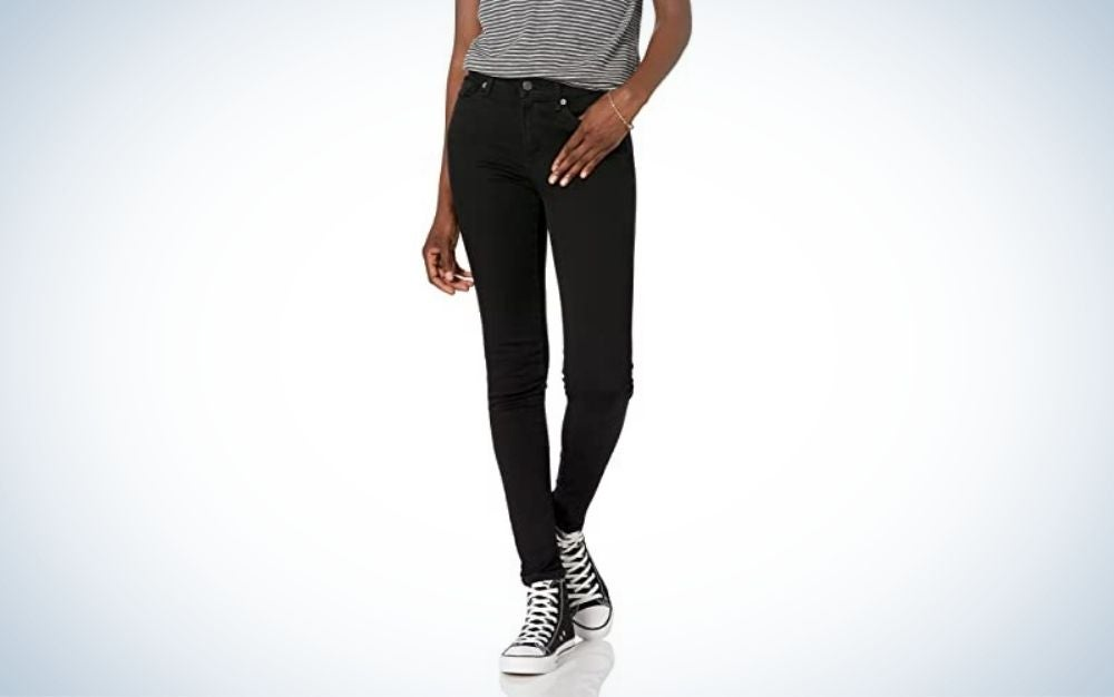 Goodthreads Women's Mid-Rise Skinny Jean are the best budget skinny jeans.