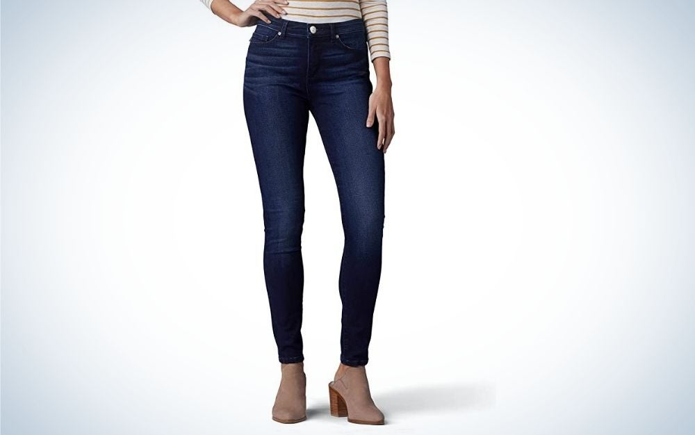 The Lee Women's Sculpting Slim Fit Skinny Leg Jeans are the best overall skinny jeans.