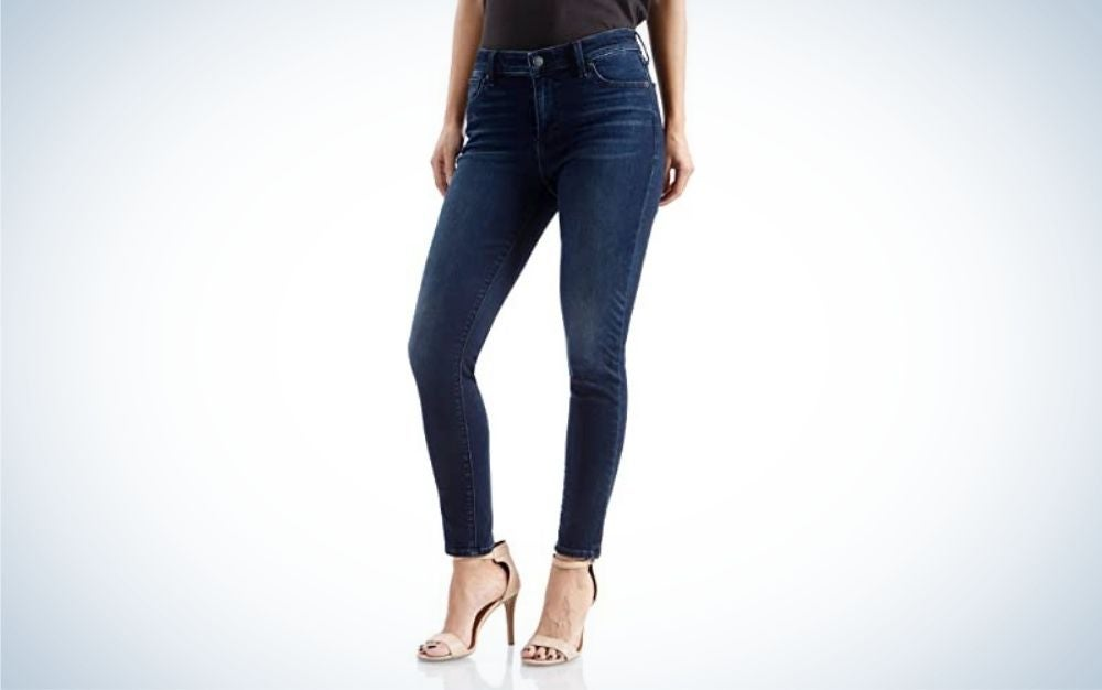 Lucky Brand Women's Mid Rise Ava Skinny Jeans are the best mid-rise cut of skinny jeans.