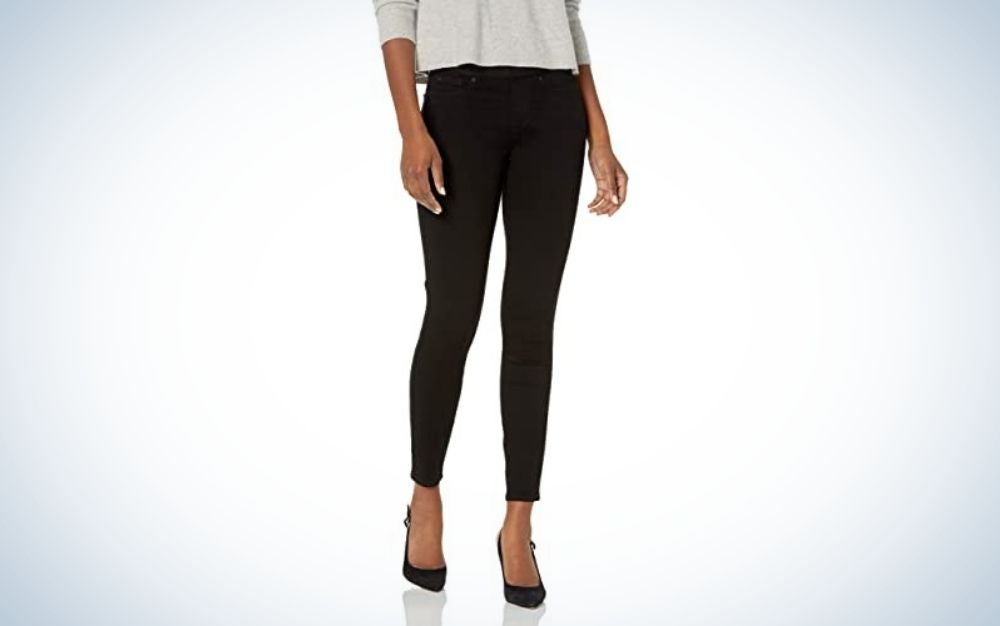 signature-by-levi-gold-label-womens totally-shaping-pull-on-skinny- jeans-best-jeggings