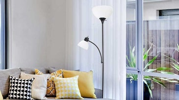 lamp in the living room