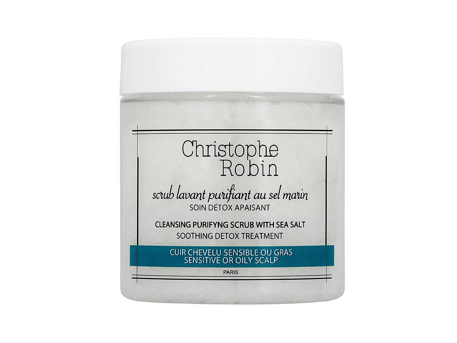 Christophe Robin Cleansing Purifying Scrub with Sea Salt 75 ml