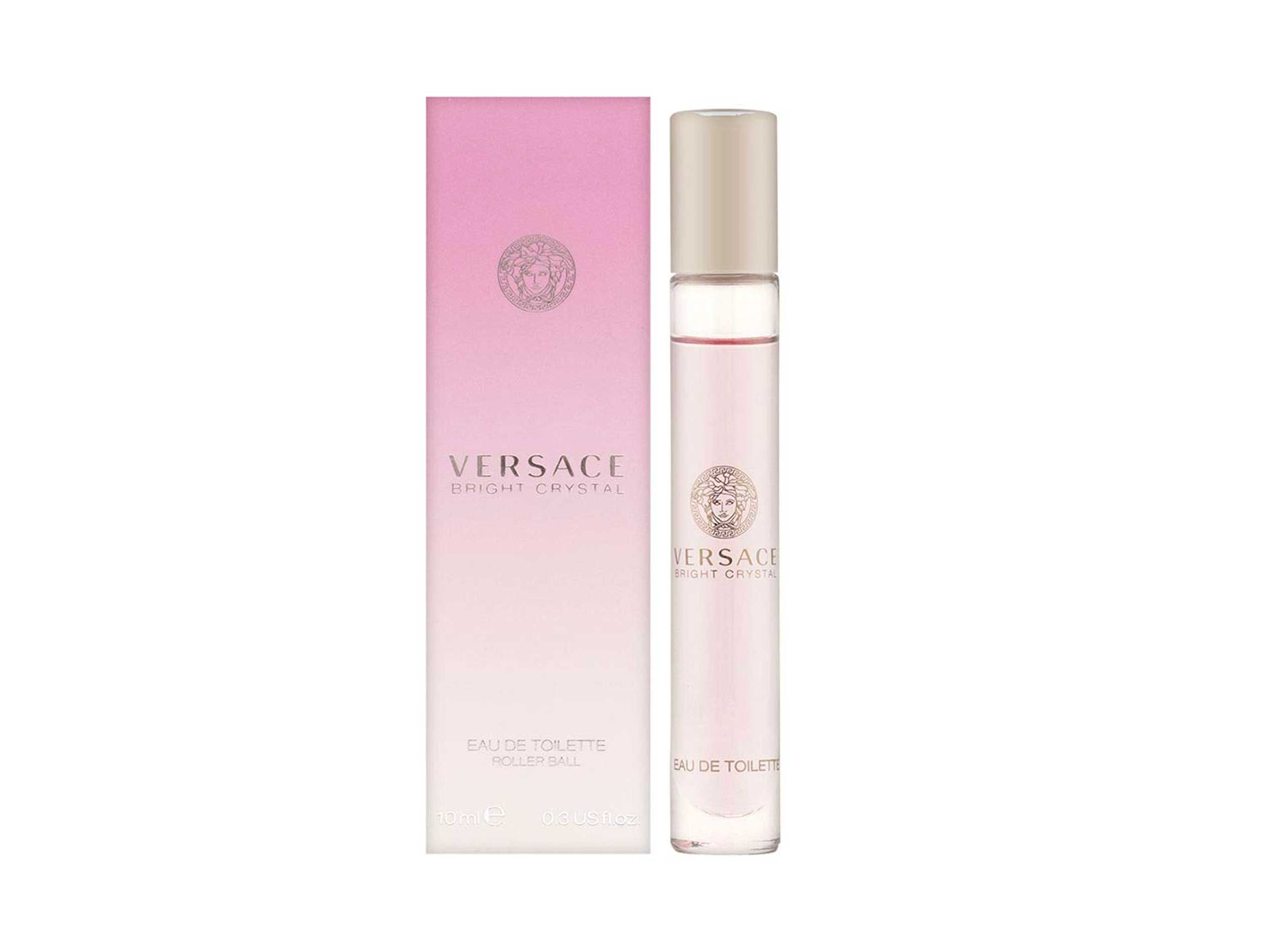 Versace Bright Crystal by Gianni Versace Eau De Toilette Rollerball for Women, .3 Ounce