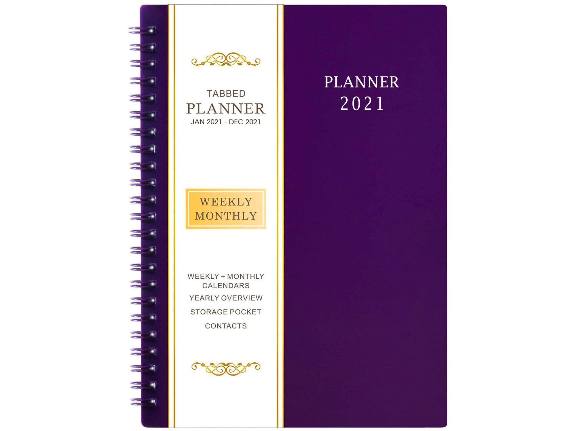 2021 Planner - Weekly & Monthly Planner