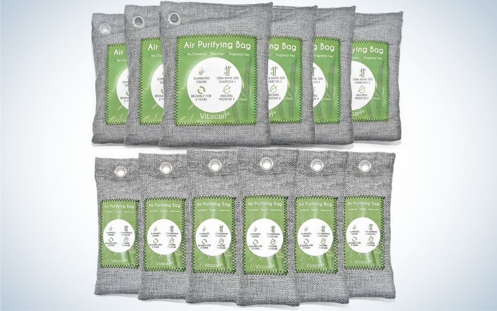 The 12 Pack Bamboo Charcoal Air Purifying Bag is the most eco-friendly.